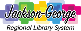 Logo for Jackson-George Regional Library System