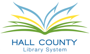 Logo for Hall County Library System