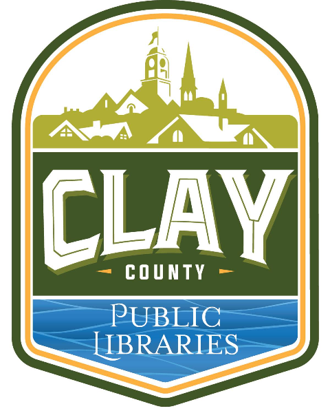 Logo for Clay County Public Library System