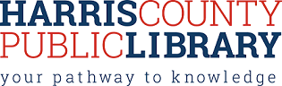 Logo for Harris County Public Library