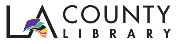 Logo for LA County Library