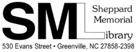 Logo for Sheppard Memorial Library