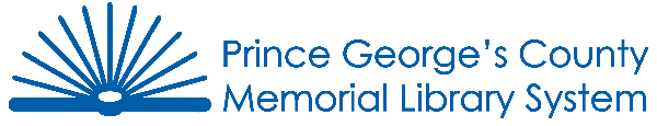 Logo for Prince George's County Memorial Library System