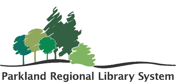 Logo for Parkland Regional Library
