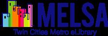 Logo for MELSA Metropolitan Library Service Agency