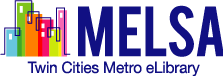 Logo for MELSA: Twin Cities Metro eLibrary
