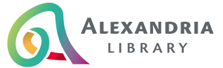 Logo for Alexandria Library