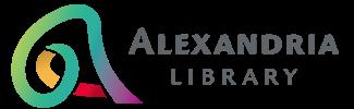 Logo for Alexandria Library