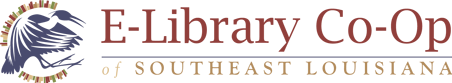Logo for E-Library Co-Op of Southeast Louisiana