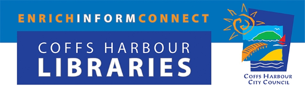 Logo for Coffs Harbour Libraries