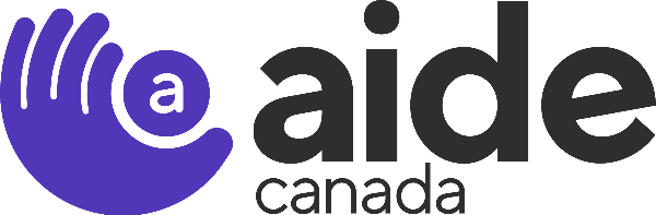 Logo for AIDE Canada