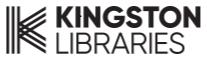Logo for Kingston Libraries