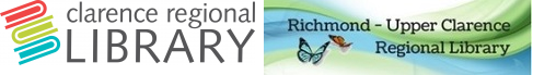 Logo for Clarence Valley/Richmond Valley Libraries