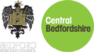 Logo for Bedford Borough and Central Bedfordshire