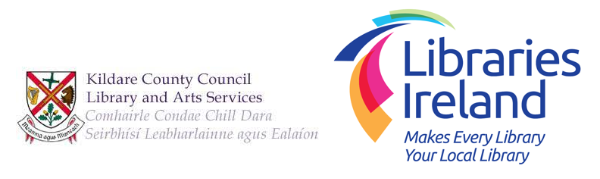 Logo for Kildare County Council Library and Arts Service