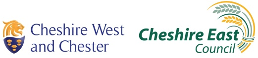Logo for Cheshire Libraries