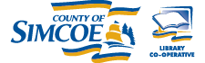 Logo for County of Simcoe Library Co-operative