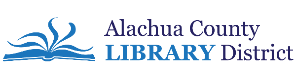 Logo for Alachua County Library District