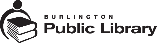 Logo for Burlington Public Library
