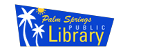 Logo for Palm Springs Public Library