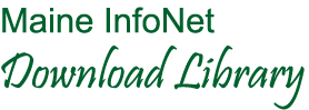 Logo for Maine InfoNet