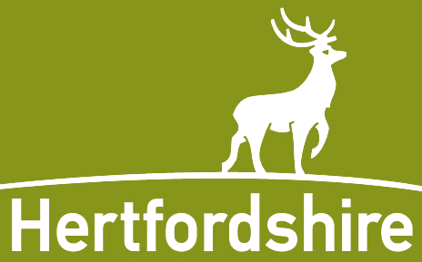 Logo for Hertfordshire Libraries