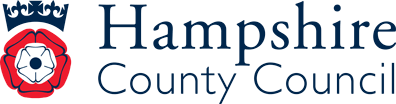 Logo for Hampshire Library and Information Service