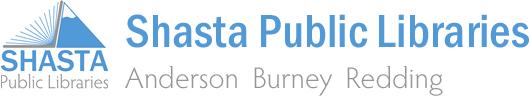 Logo for Shasta Public Libraries