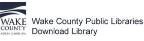 Logo for Wake County Public Libraries