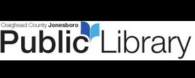 Logo for Craighead County Jonesboro Public Library