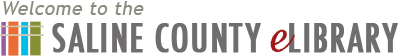 Logo for Saline County Public Library