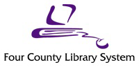 Logo for Four County Library System