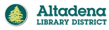 Logo for Altadena Library District