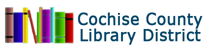 Logo for Cochise County Library District