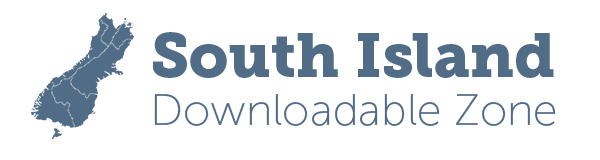 Logo for South Island