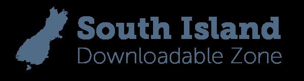 Logo for South Island