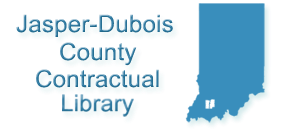 Logo for Jasper Dubois County Contractual Public Library