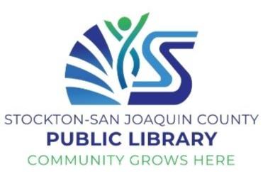 Logo for Stockton-San Joaquin County Public Library