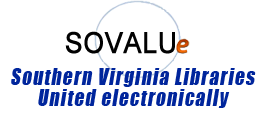 Logo for Southern Virginia Libraries United Electronically