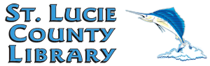 Logo for St. Lucie County Library System