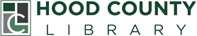 Logo for Hood County Public Library
