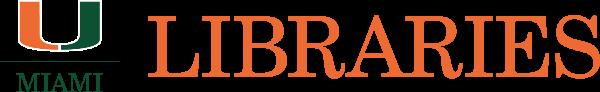 Logo for University of Miami Libraries