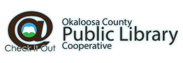 Logo for Okaloosa County Public Library Cooperative