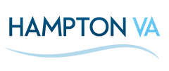 Logo for Hampton Public Library