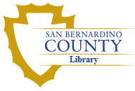 Logo for San Bernardino County Library