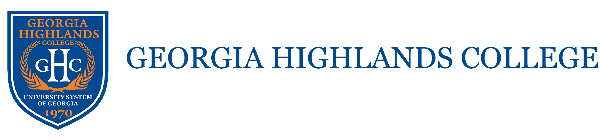 Logo for Georgia Highlands College