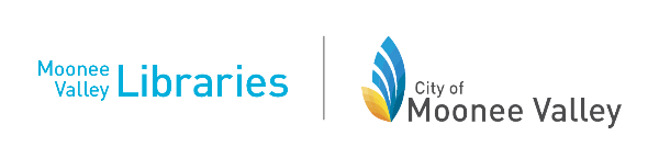 Logo for Moonee Valley Libraries
