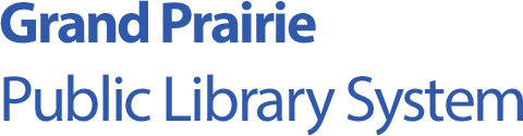 Logo for Grand Prairie Public Library System