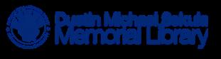 Logo for Dustin Michael Sekula Memorial Library
