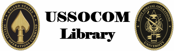 Logo for USSOCOM Library